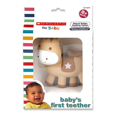 Scholastic for Baby Baby's First Teether, Horse