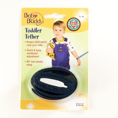 Baby Buddy Toddler Tether Navy