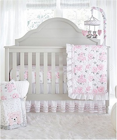 Wendy Bellisimo Savannah Bedding Crib Set 4-Pieces