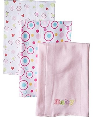Spasilk Baby 3 Pack Burp Cloth