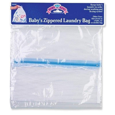Baby King Zippered Laundry Bag