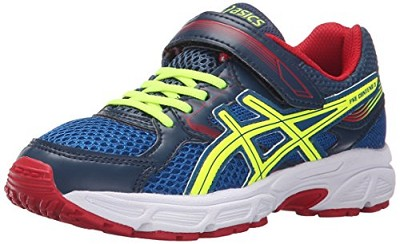 Asics 60% Off Running Kids Gel Contend 3 GS Royal/Yellow/Red