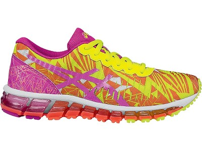 Asics 60% Off Gel Quantum 360 GS Pink Glow-Flash Yellow