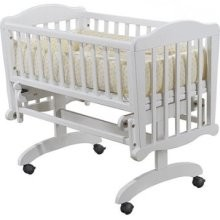 Sorelle Dondola Cradle in White