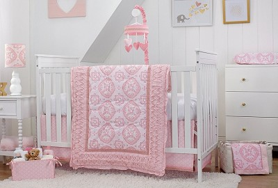 Carter's Heart of Gold 4 Piece Crib Bedding