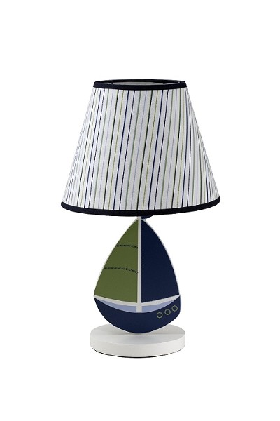 Crown Craft Nautica Zachary Lamp & Shade
