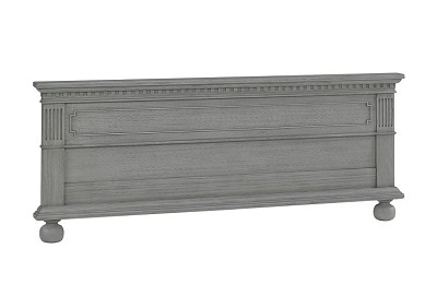 Dolce Babi Naples Low Profile Footboard for Conversion Crib Nantucket Grey