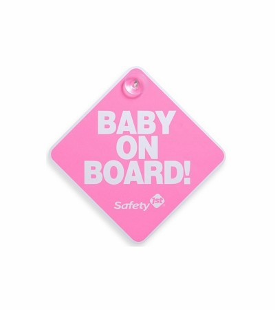 Safety 1st® Baby On Board Sign, Pink