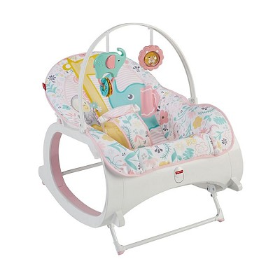 Fisher Price Infant-To-Toddler Rocker Pink