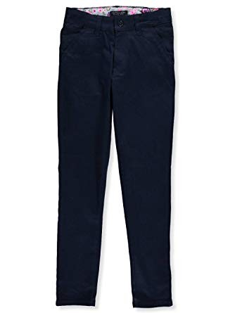 U.S.Polo 50% Off Stretch Pant Girl, Navy