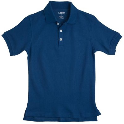 French Toast 50% Off School Uniform Boy Pique Polo, Royal Blue