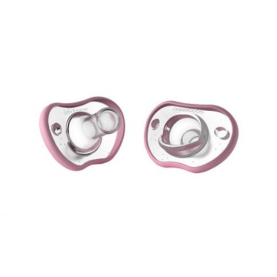 Nanobebe 2 Pack Flexy Pacifier 0-3 Months, Teal