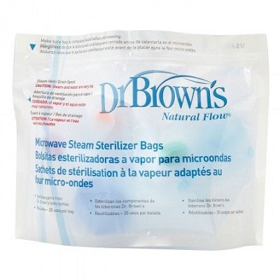 Dr. Brown's® Microwave Steam Sterilizer Bags