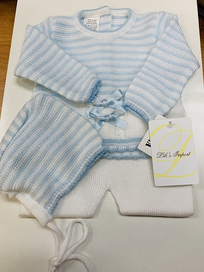 Lolin Knit Set 3 Pieces 0-3 Months