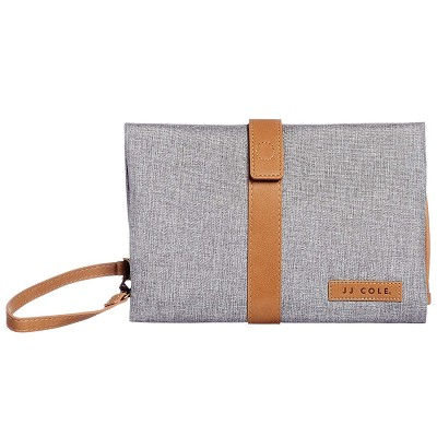 JJ Cole Changing Clutch Heather Gray