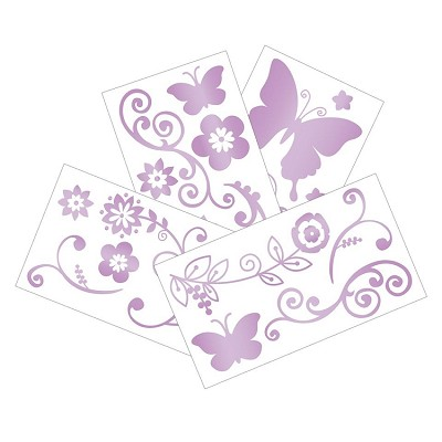 Lambs & Ivy Butterfly Lane Wall Appliques