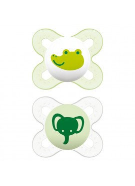 MAM Pacifier 2pk Start 0+ M BPA-free