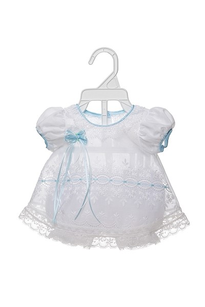 Ideal Baby Linen Baby Embroidery Dress 0/12 Months Assortment