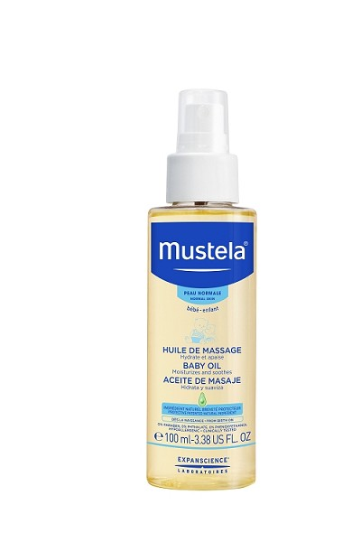 Mustela  Massage Oil 3.38oz