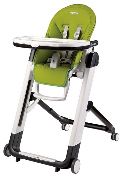 Peg Perego Siesta High Chair, Mela - Green