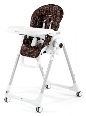 Peg Perego Prima Pappa Zero 3 High Chair  Savana Cacao