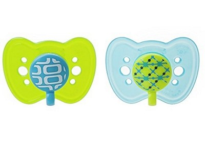 The First Years Gumdrop Newborn Ortho Pacifier, 2-Pack 0-6 Months