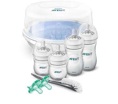 Avent Natural Essentials Bottle Gift Set