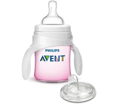 Avent My First Transition Cup 4oz Pink