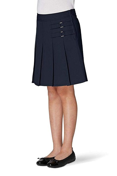 French Toast 50% Off  School Uniform Two Tab SKort Girl Navy