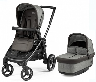 Peg Perego Book Team Stroller Atmosphere-Light Grey & Dark Grey