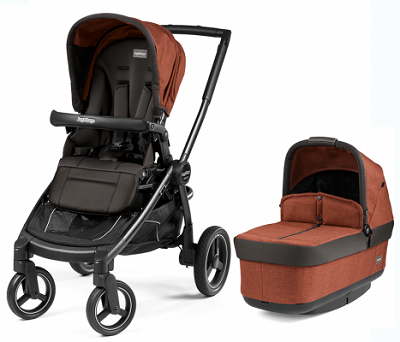 Peg Perego Book Team Stroller Terracotta-Burnt Orange