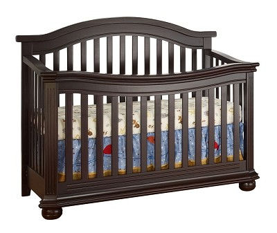 Sorelle Vista Elite Crib 4 in 1 in Espresso